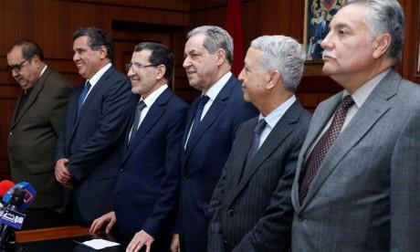 Les partis politiques lancent les concertations autour de la nouvelle composition du gouvernement