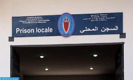 Tiflet: la prison locale dément la grève de la faim d'un détenu