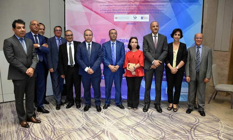 Casablanca a abrité le 19 septembre la 14e édition du Forum national de la sécurité au travail organisé par le GIPSI  en collaboration avec ses partenaires.                               Ph. Sradni