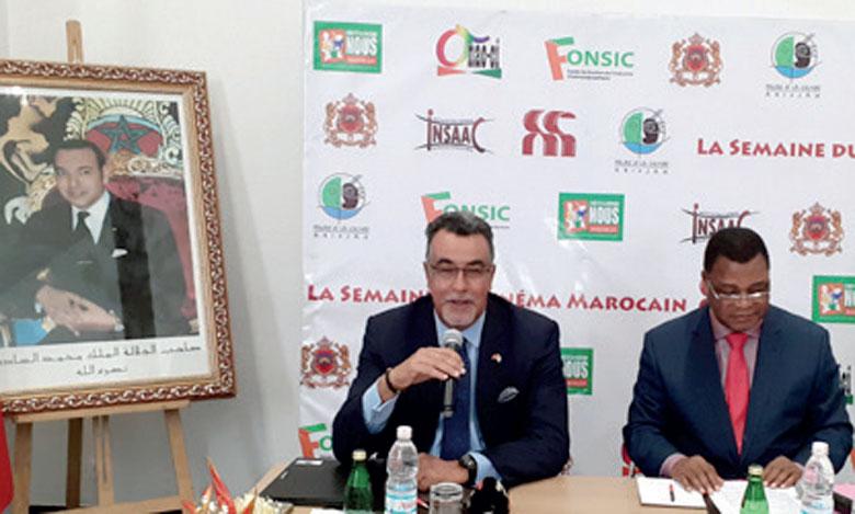 Selon Abdelmalek Kettani, ambassadeur du Maroc en Côte d'Ivoire, cet événement biennal vise à renforcer le rapprochement culturel entre les deux peuples.