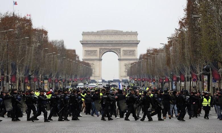 France : forte mobilisation policière pour les manifestations de samedi