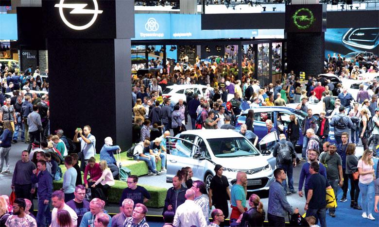 En Europe, les ventes des véhicules électriques ne représentent encore que 2% du marché.