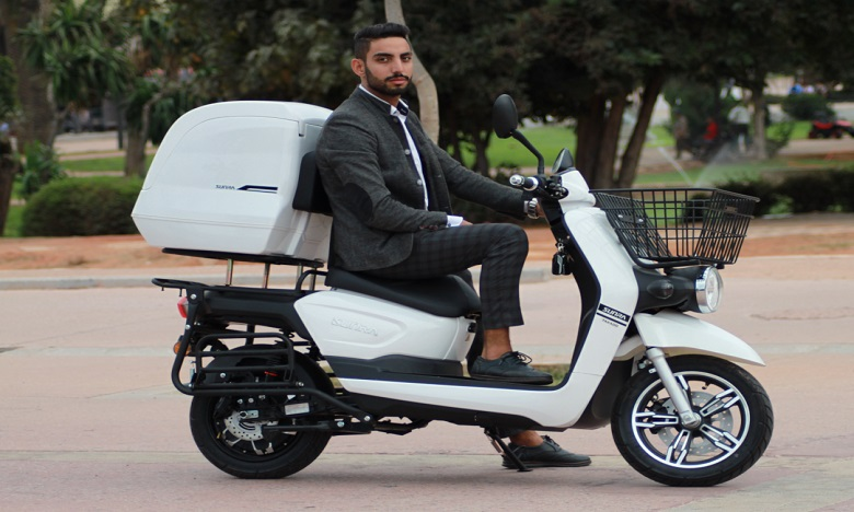 Takado lance le scooter E-Delivery destiné aux professionnels