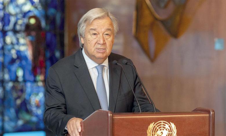 «Je veux qu'on me dise comment nous allons réduire les émissions de CO2 pour atteindre la valeur nette de zéro d'ici le milieu du siècle», a demandé Antonio Guterres, secrétaire général de l'ONU.  Ph. DR