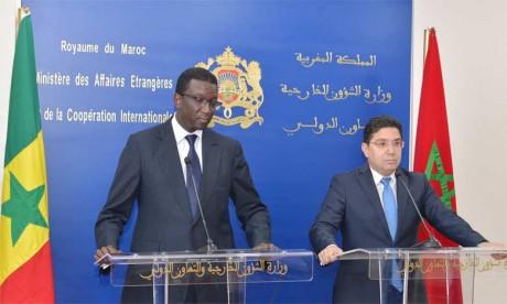 Le Sénégal salue l'engagement infaillible de Sa Majesté le Roi Mohammed VI en faveur de la paix et de la sécurité en Afrique