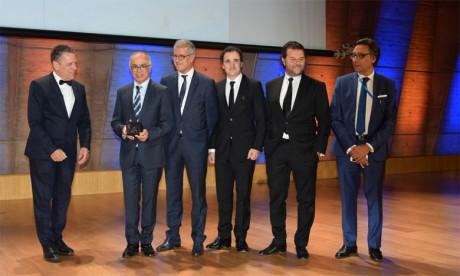 Le Prix mondial d'architecture et de design décerné à Paris à la nouvelle gare ferroviaire de Kénitra