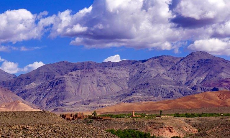 Des nuages instables avec pluies ou averses orageuses sont prévues sur les reliefs du haut et moyen Atlas, l'Oriental, le Saiss et la Méditerranée. Ph. DR