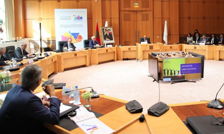 Tenue de la première réunion du comité de pilotage de l'INDH dans le cadre de la troisième phase de l'Initiative