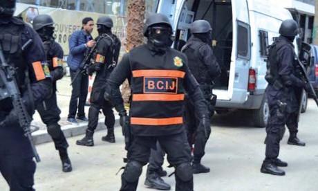 Démantèlement d'une cellule terroriste composée de 5 extrémistes liés à «Daech» s'activant à Berkane et Nador