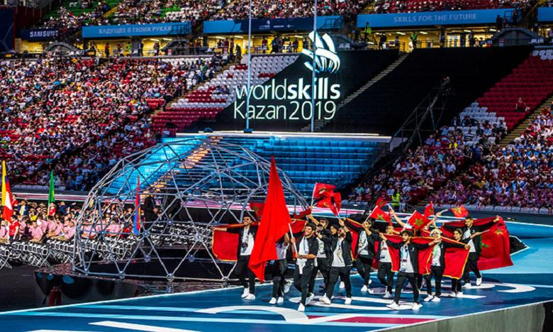 «WorldSkills Kazan 2019» : Deux ''Médaillon d'Excellence'' pour l'OFPPT