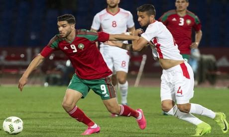 Walid Azarou fier de jouer pour l'équipe nationale