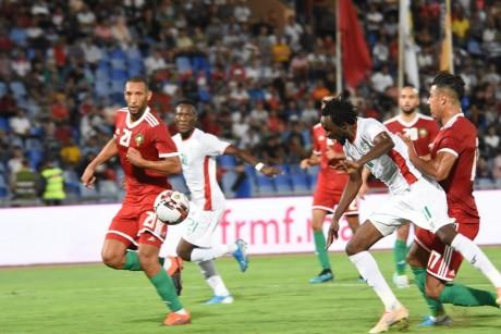 Maroc-Burkina Faso : Score de parité à la mi-temps