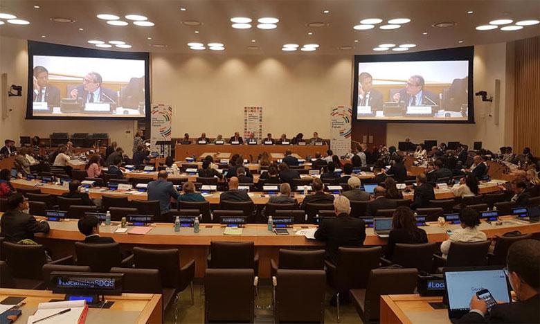 Le Maroc met en avant son engagement en faveur de l'Agenda onusien  de développement 2030