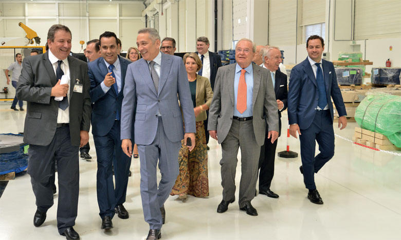 Proma industrie Kénitra dont les travaux de construction ont duré 6 mois seulement compte déjà parmi ses clients PSA Kénitra, Nexter Kénitra, MagnetMarelli Tanger, PSA/Opel Espagne.