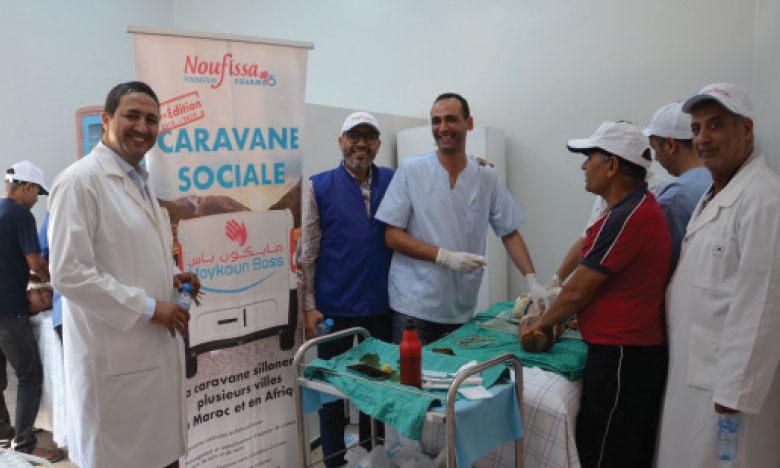 Plus de 1.500 patients ont pu être auscultés par la caravane sociale.