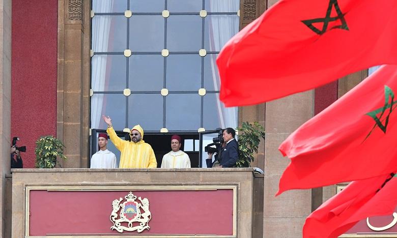 S.M. le Roi prononce un discours à l'occasion de l'ouverture de la 1-ère session de la 4ème année législative de la 10-ème législature