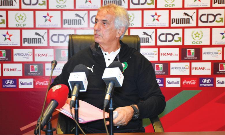 Vahid Halilhodzic relance le débat sur la qualité des joueurs locaux