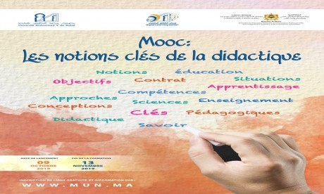 ''Les notions clés de la didactique'', un Mooc lancé par l'UM5R