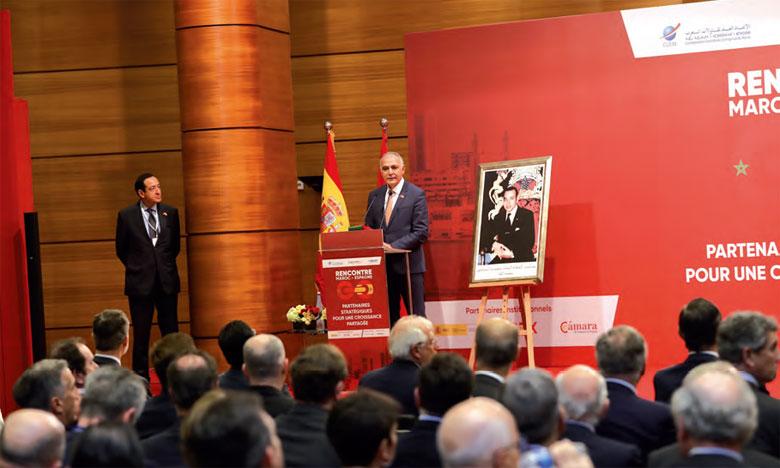 Salaheddine Mezouar, président de la Confédération générale des entreprises  du Maroc (CGEM)