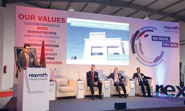 Le Maroc, nouveau hub régional  de Bosch Rexroth