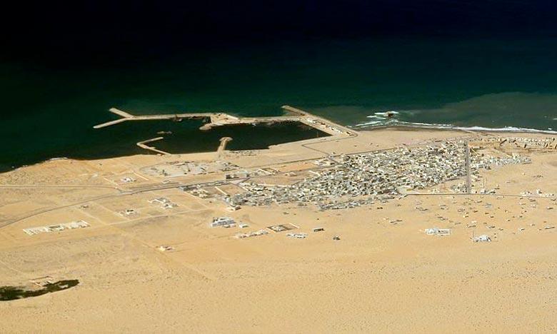La liaison maritime Fuerteventura-Tarfaya est susceptible de renforcer les perspectives de coopération dans plusieurs domaines . Ph : DR