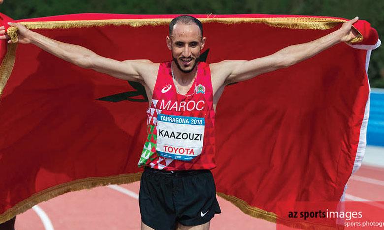 Brahim Kaazouzi sèche l'épreuve du 1.500 m