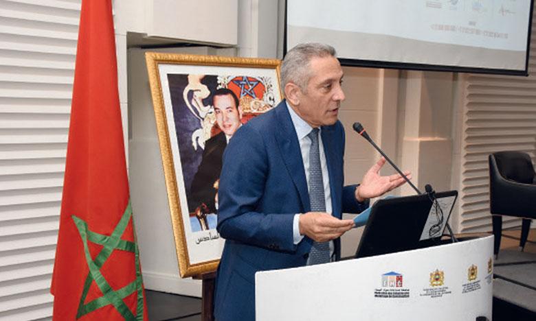Moulay Hafid Elalamy s'est dit à la fois inquiet et confiant pour la filière. Ph.Saouri