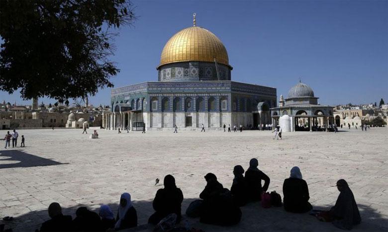 La Mosquée Al-Aqsa envahie par des centaines de colons