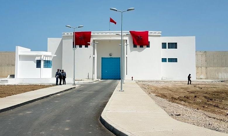 Mise au point de la prison locale Tanger 2