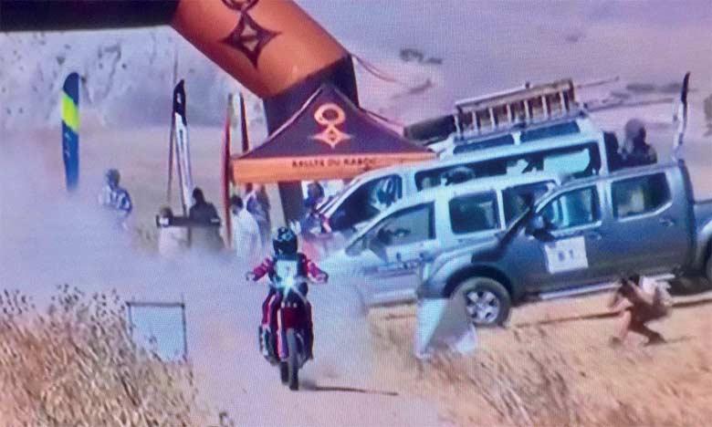 Départ du 20e Rallye du Maroc entre Fès et Erfoud