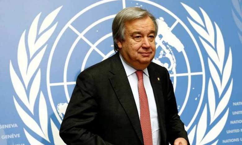 Le SG de l'ONU se félicite de la coopération du Maroc avec la Minurso