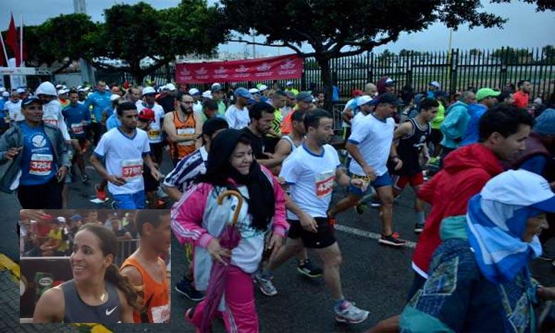 La deuxième place du 12e Marathon international de Casablanca (MIC) est revenue à la Marocaine Keltoum Bouaasrya avec un chrono 2:34:30. Ph : DR