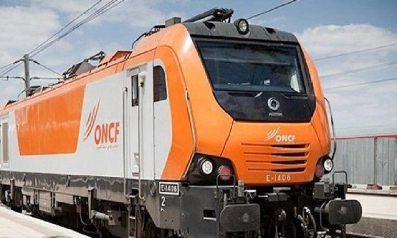Déraillement  d'un train près de la gare de Bouskoura :  l'ONCF rassure