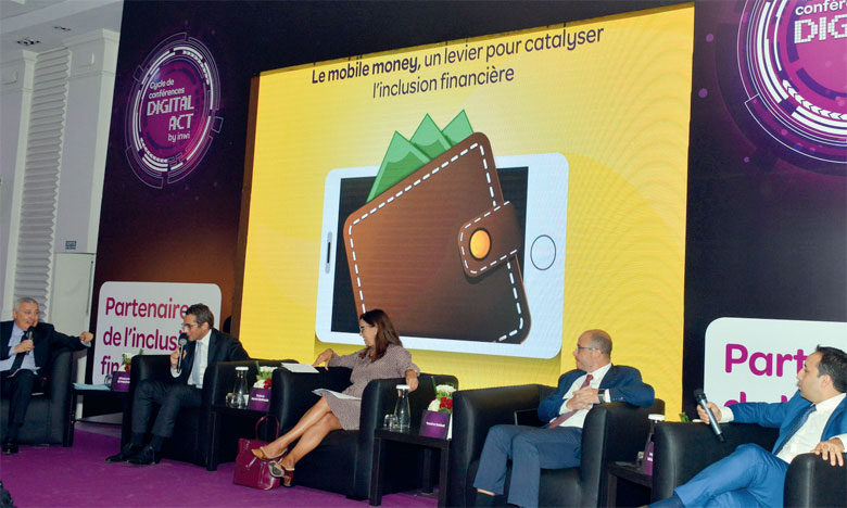 Le premier colloque du Cycle de Conférences «Digital Act by inwi» s'est tenu sous le thème «Le Mobile Money : un levier pour catalyser l'inclusion financière». Ph. Sradni