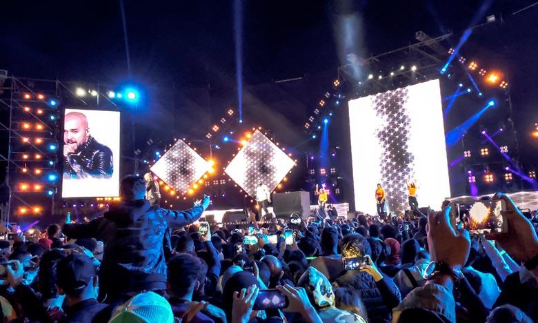 Le concert de la tolerance attire lors de chaque édition plus de 150.000 spectateurs sur la plage et la corniche d'Agadir pour un magnifique spectacle gratuit. Ph : MAP