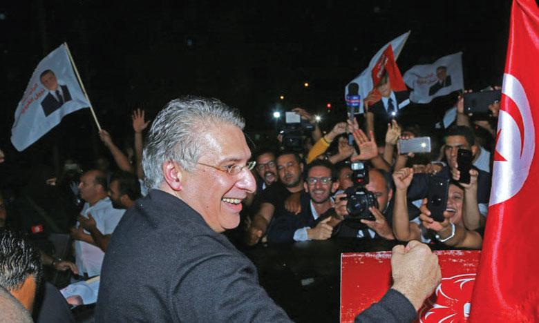 Le candidat à la présidentielle libéré, victoire d'Ennahda aux législatives