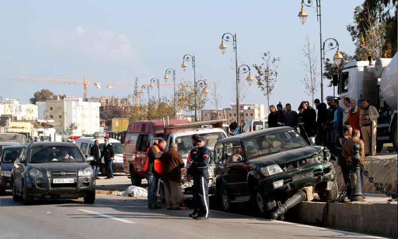 La DGSN faisant état de la mise en fourrière municipale de 5.075 véhicules, de la saisie de 7.770 documents et du retrait de la circulation de 227 véhicules. Ph : MAP