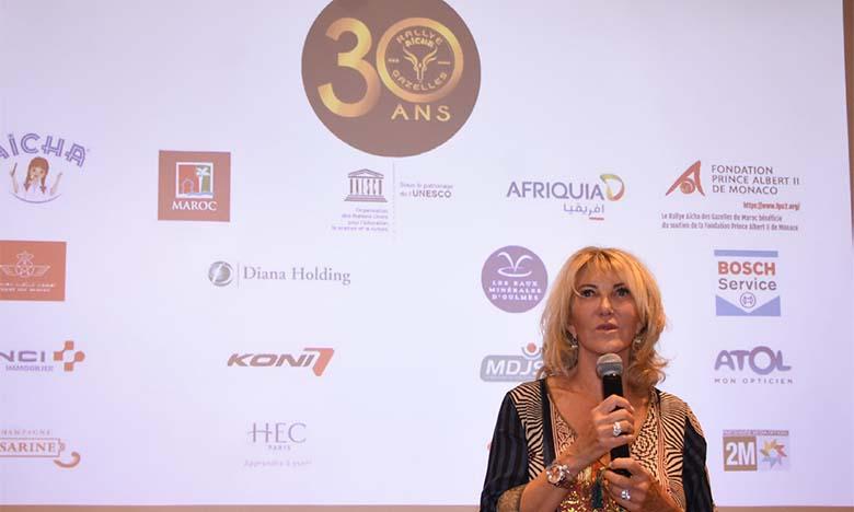 Le fondatrice et organisatrice du RAG, Dominique Serra, lors de la conférence de presse de la 30e édition.  Ph. Saouri
