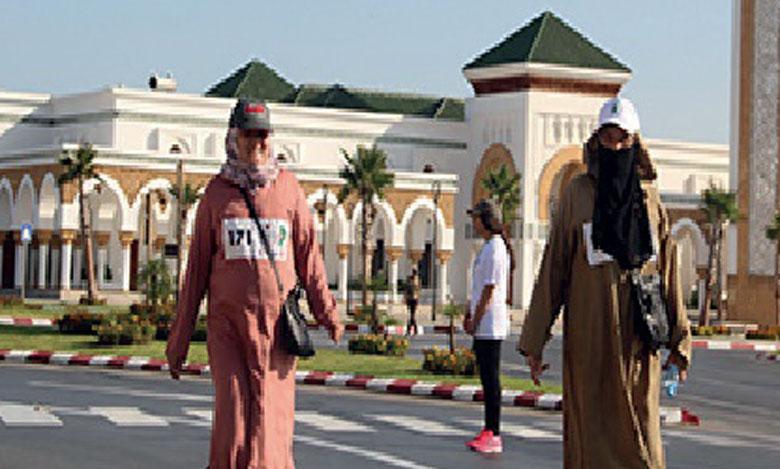 Une course sur route à l'occasion de la Journée  nationale de la femme marocaine