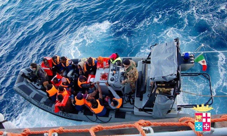 Des morts et des disparus  dans le naufrage de migrants à Lampedusa