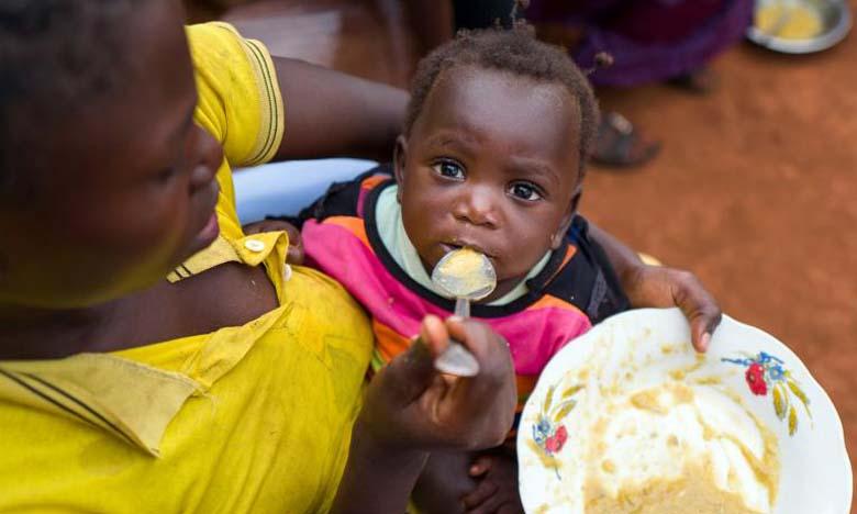 L'Unicef sonne la cloche pour la malnutrition des enfants