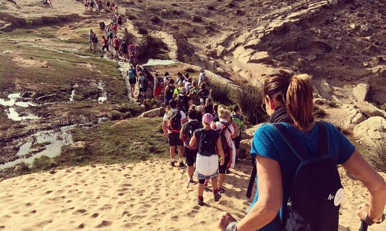«Trek des Gazelles» est une aventure à la fois sportive et spirituelle, privilégiant la rencontre avec soi et les échanges avec les autres. Ph : DR