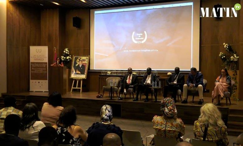 Lors de cette cérémonie, un hommage a été rendu à la Fondation Trophée de l'Africanité pour son soutien à la cause du patrimoine .
