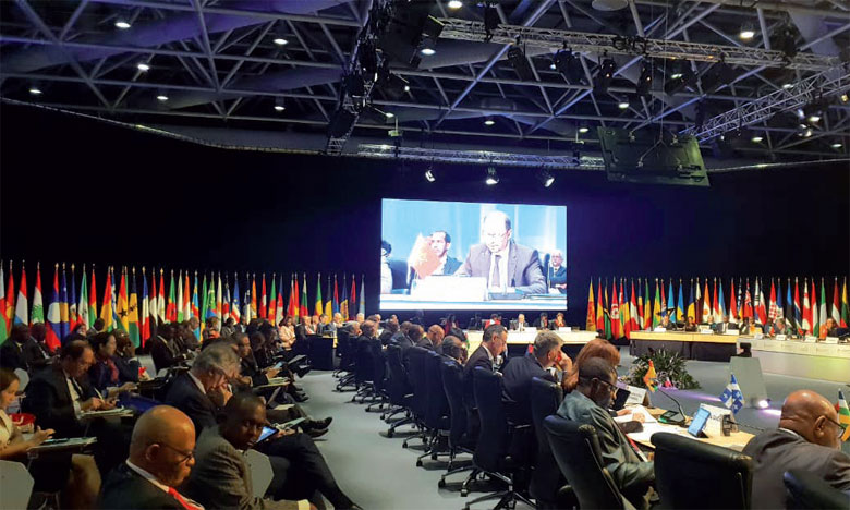 Mohcine Jazouli souligne l'engagement du Maroc, sous l'impulsion de Sa Majesté le Roi Mohammed VI, à réconcilier développement humain et protection de l'environnement
