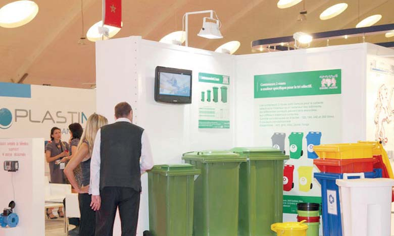 Trente entreprises françaises  au Salon Pollutec