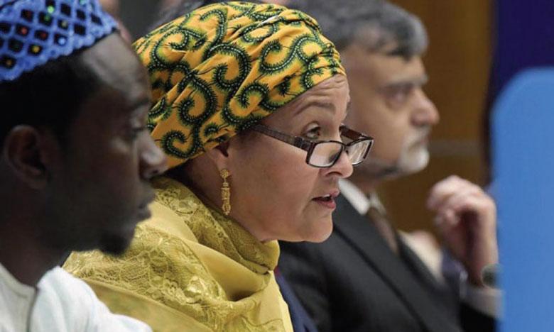La Vice-Secrétaire générale des Nations unies, Amina J. Mohammed, a rappelé que «les obligations vertes sont passées de zéro à plus de 200 milliards de dollars en dix ans». Ph. DR
