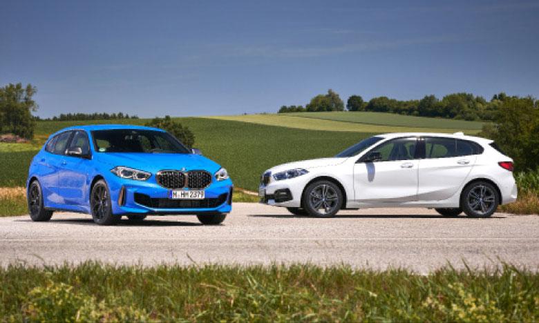La nouvelle Série 1 offre une dynamique de conduite hors pair parmi les voitures à traction et établit de nouvelles références dans le segment des modèles compacts Premium.