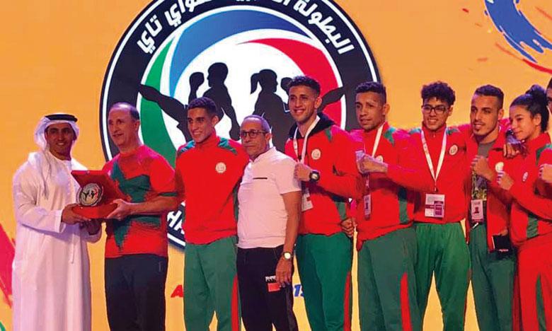 L'équipe nationale sacrée à Abou Dhabi