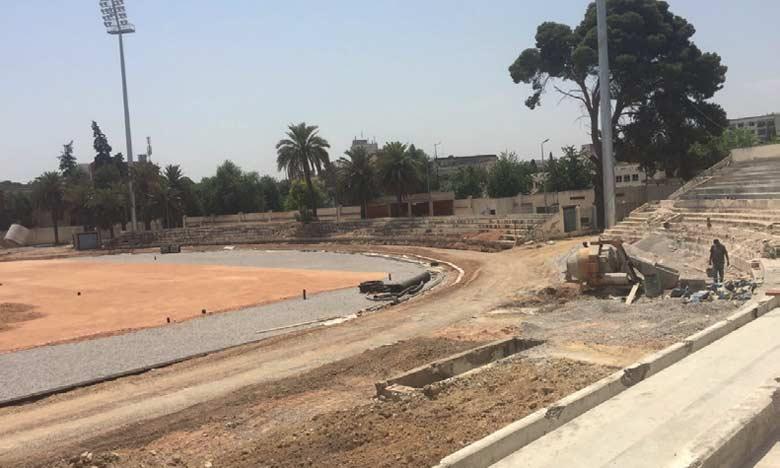 20 millions de DH pour la rénovation du stade  emblématique Hassan II
