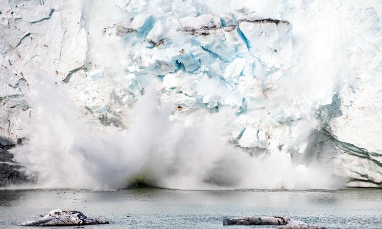 Selon les scientifiques, l'ouest de l'Antarctique et le Groenland, contrairement à l'est du continent, se réchauffent à grande vitesse en raison du changement climatique. Ph : AFP